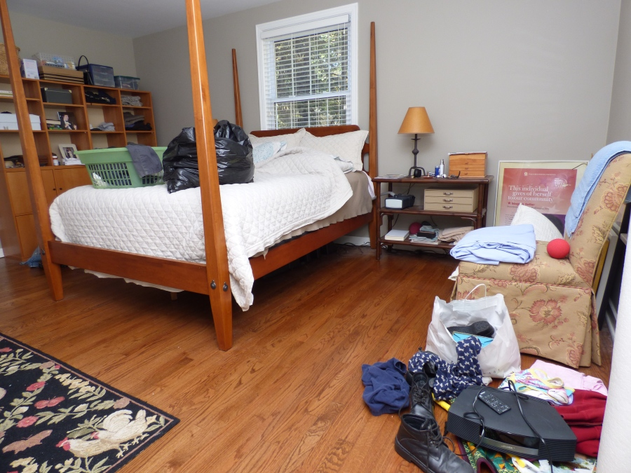 Home Staging will make room look inviting